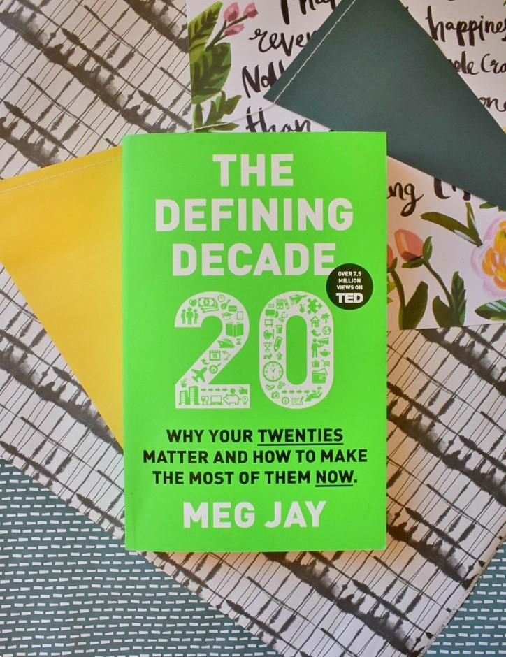 Love a good self help book? The Defining Decade by Meg Jay is an interesting book aimed at those in their twenties who are feeling a little lost. Split into three sections - work, love and The Brain and Body. Read my thoughts on the blog. #selfhelp #books #booklover #bookaddict #bookshelf #twenties