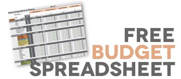 Free Download: Budget Spreadsheet