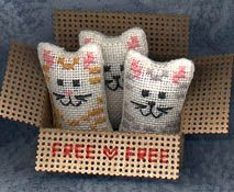Mini kittens kit from The Flower Thread Company $12.50 (Want, want, want!!)