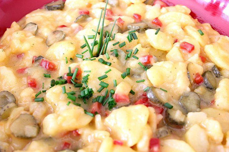 Kartoffelsalat / ideale Beilage zum Grillen