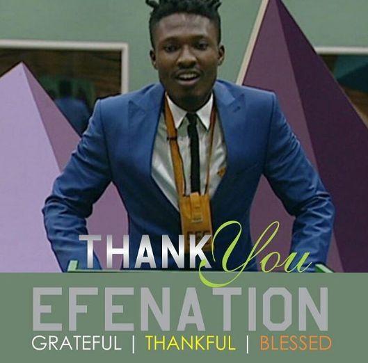 Thank You For Lighting Up A Life! -BB Naija Winner Efe Deeply Appreciates Nigerians
