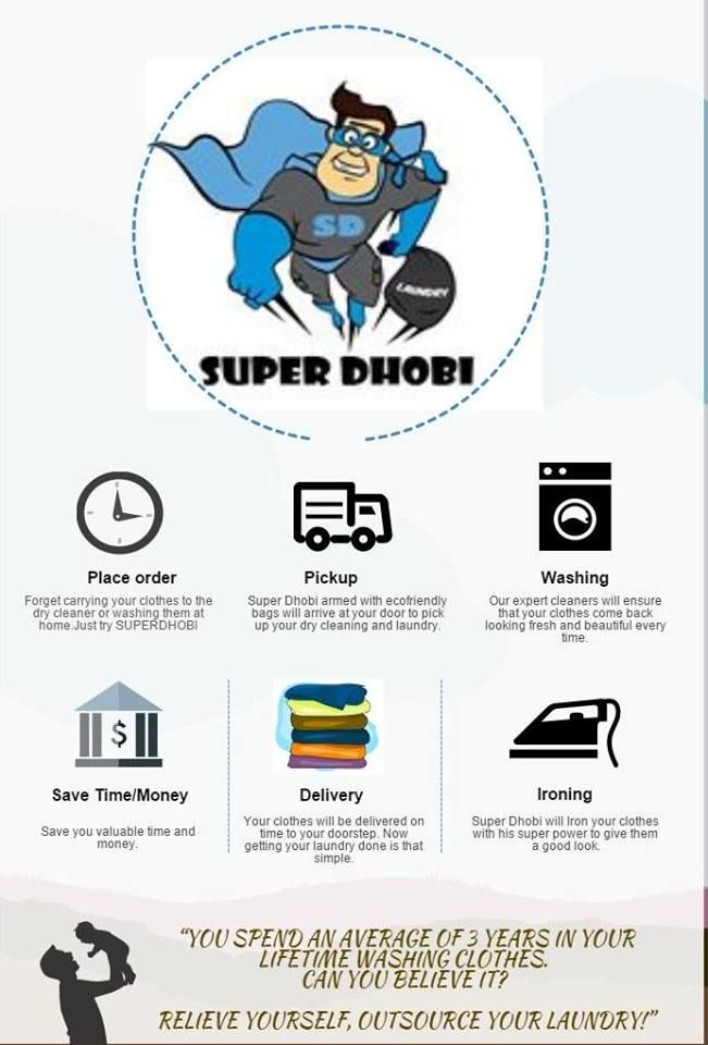 How SuperDhobi Laundry system work