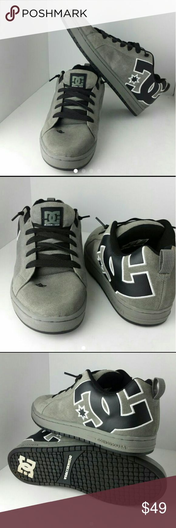 DC SHOES MEN'S FASHION SNEAKERS LIKE NEW   SKE # JZ dc shoes  Shoes Sneakers