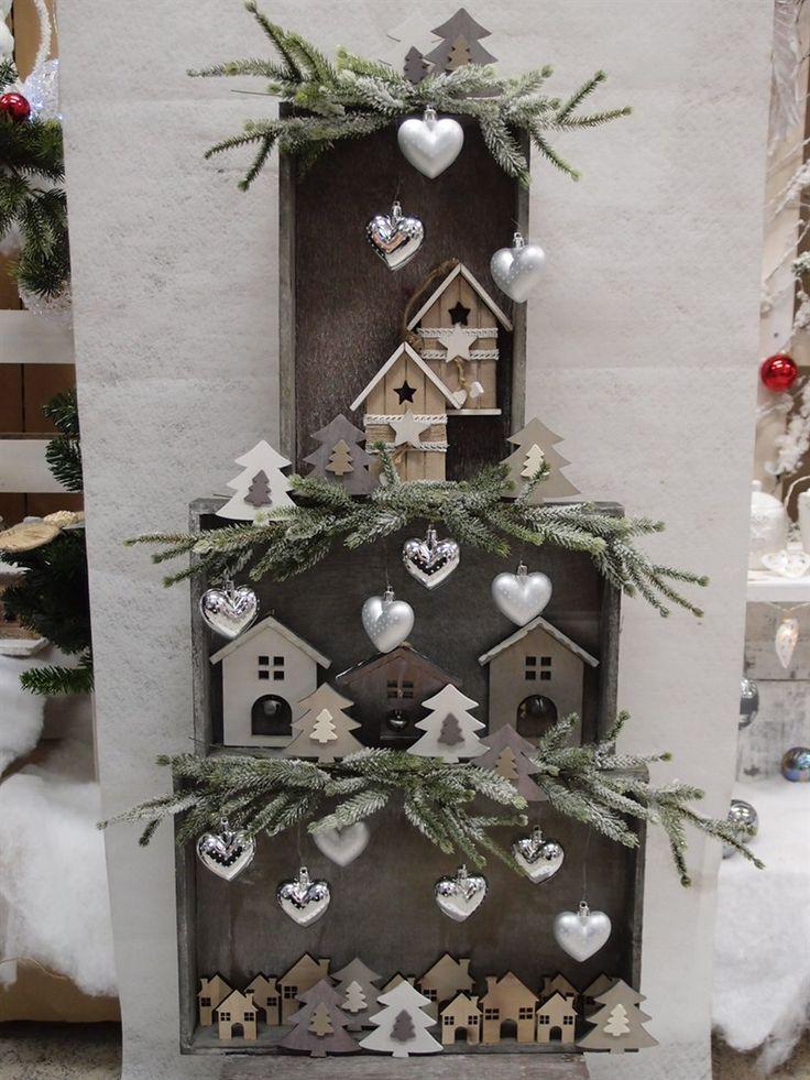 Idee shabby, albero di natale, addobbi, decorazioni natalizie e tutto…
