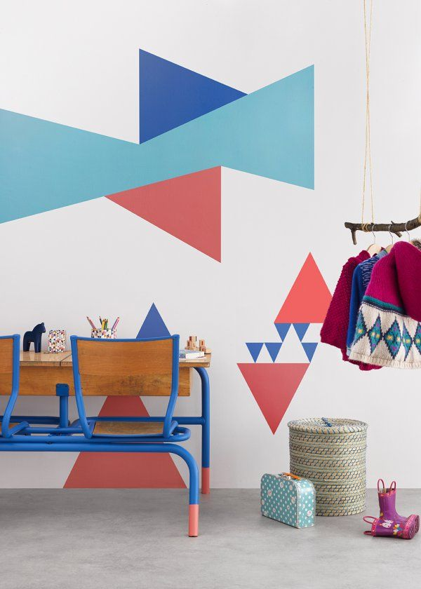 Chambre d'enfant / Kids room / Couleur : Zolpan lance sa collection peintures pour les chambres de bébé - Marie Claire Maison