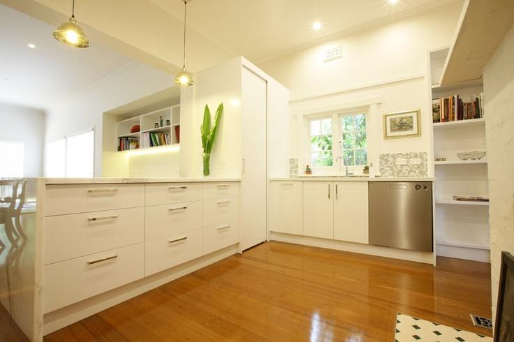 White kitchen renovation Ormond