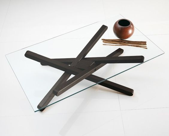 SHANGAI Low coffee table by RIFLESSI design RIFLESSI