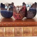Owl tutorial coming up in Feb hopefully, for these cute owls @ Mad Mad me's blog!: Owl Toys, Crochet Ideas, Owl Tutorials, Crochet Toys, Owl Craze, Owl Beads, Wise Guys, Cute Owl, Crochet Help