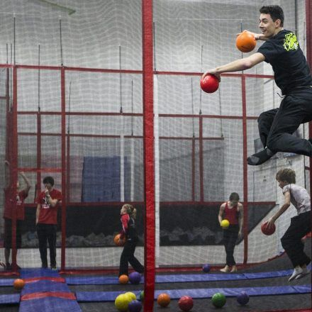 Gymnastic Academy South Trampoline Park and Training Facility - Game & Entertainment Centers - Have some fun with wall-to-wall trampolines, dodge ball courts and more at Rockford Gymnastic Academy South