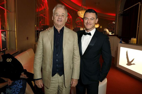Luke Evans Photos - Bill Murray and Luke Evans arrive at the GQ Men of the year Award 2016 (german: GQ Maenner des Jahres 2016) at Komische Oper on November 10, 2016 in Berlin, Germany. - Red Carpet Arrivals - GQ Men of the Year Award 2016