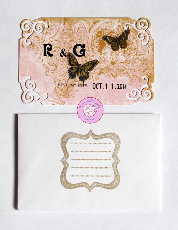 #tarjeta #personalizada #boda #felicitación #handmade #scrap #wedding
