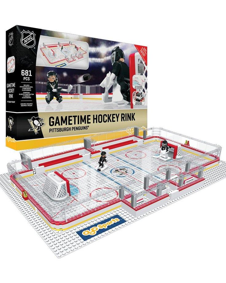 LEGO Hockey Pittsburgh Penguins | Home > Bags, Wheels, Bearings, and Accessories > Hockey Games, Toys ...