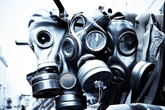"""gas masks"""