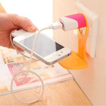 Creative Foldable Mobile Phone Charging Bracket Mobile Phone Travel Companion Phone Holder