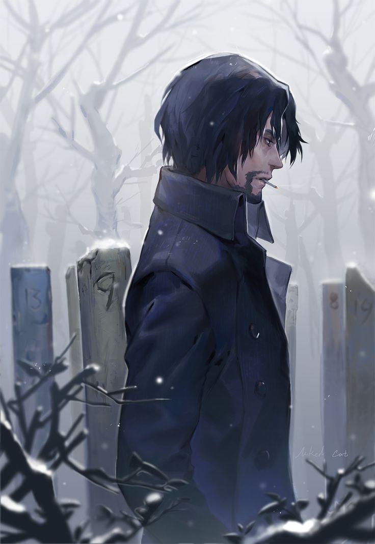 Zankyou no Terror, fan art: Shibazaki san