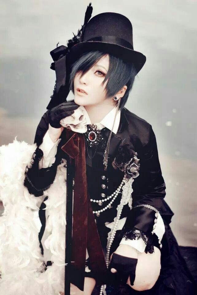Black butler ciel cosplay