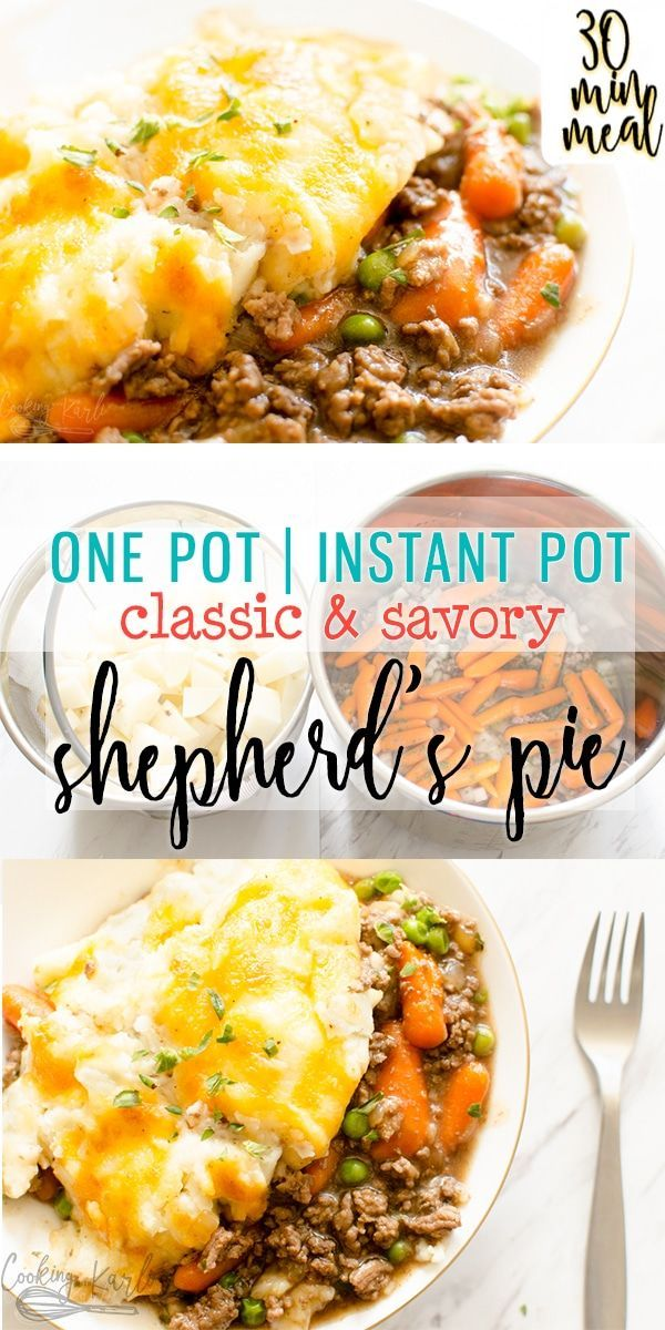 Shepherd's Pie is a savory classic from the flavorful meat and gravy up to the c…