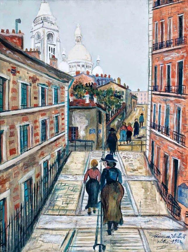 Maurice Utrillo (1883 - 1955) Montmartre, 1922
