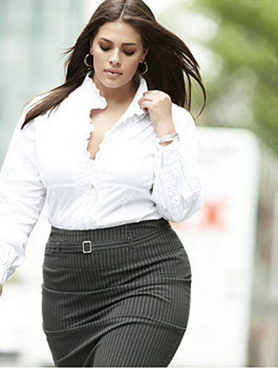 Ashley Graham ~ Age: 22. Height: 5 ft 9 in. Measurements: 38D (bra) 36-34-47. Dress size: 16