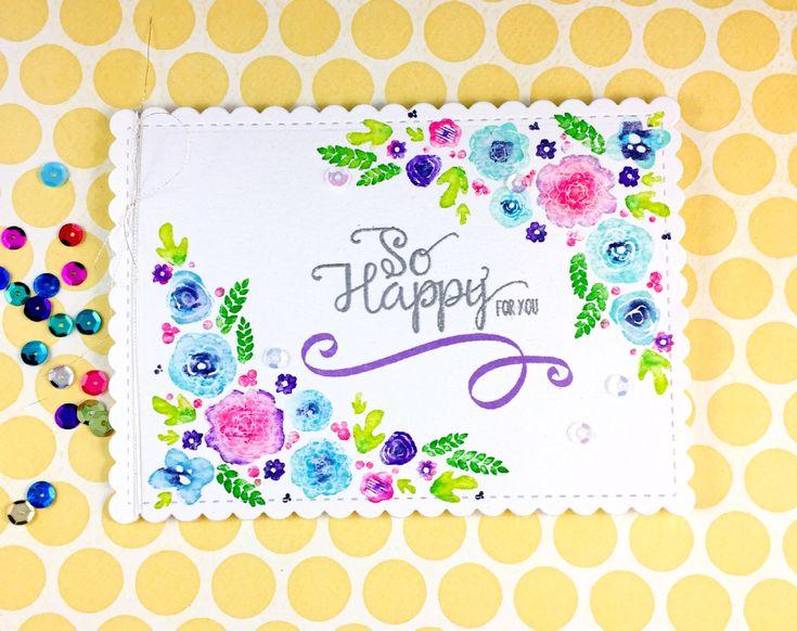 Sharp Designs: Papertrey Ink 11th anniversary- Floral Challenge