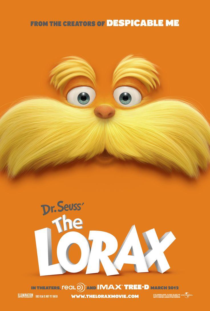 Lorax Dr. Seuss cartel película film poster miraquechulo