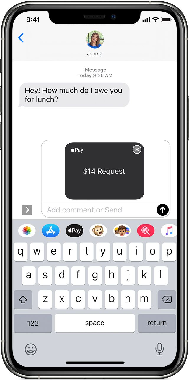 How To Text Money Through Apple Pay