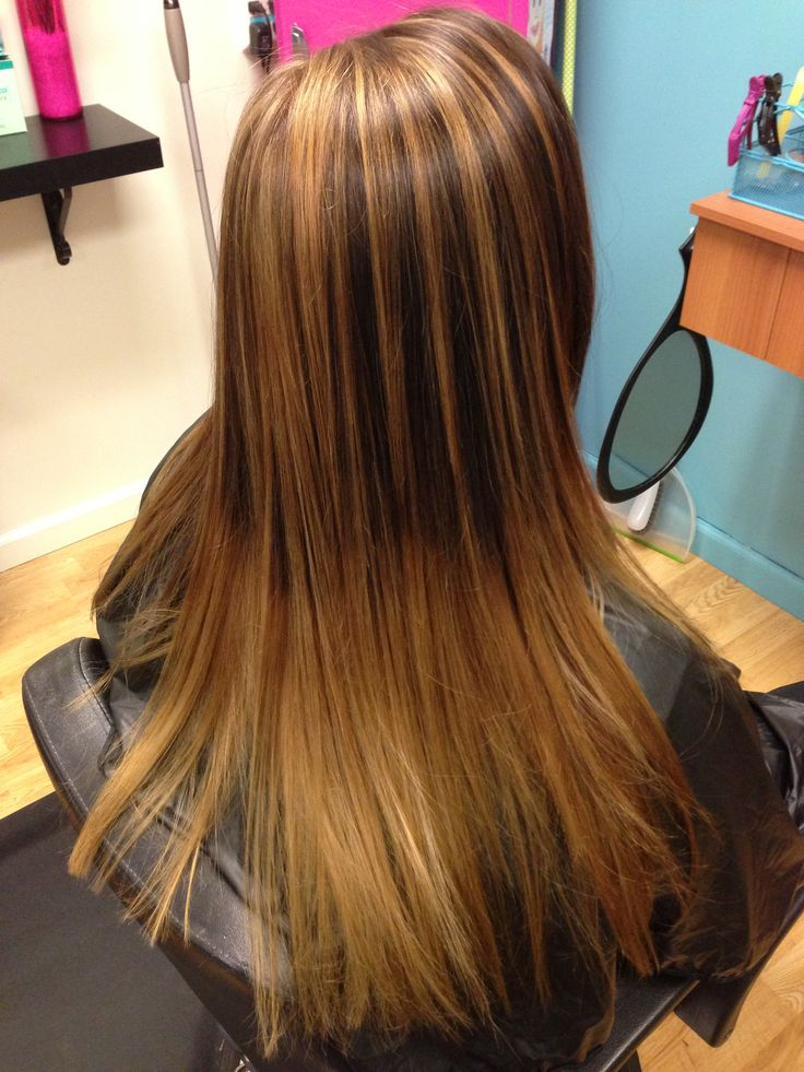 Pin Pin Caramel Highlights In Brown Hair Pictures On Pinterest on ...