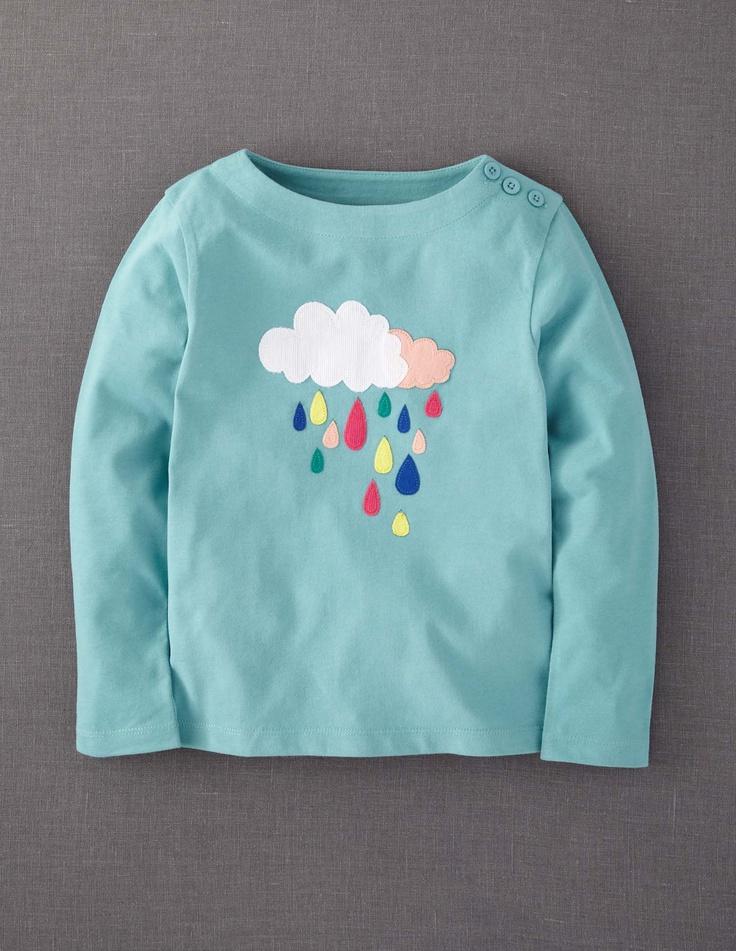 Colour Pop Appliqué T-shirt