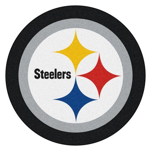 Pittsburgh Steelers Mascot Area Rug Floor Mat