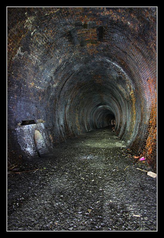 Neidpath Train Tunnel Scotland