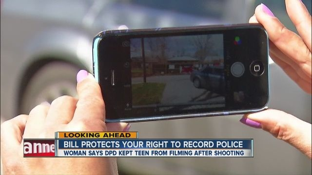 'Right to Record' bill addresses citizens' right to film law enforcement - 7NEWS Denver TheDenverChannel.com