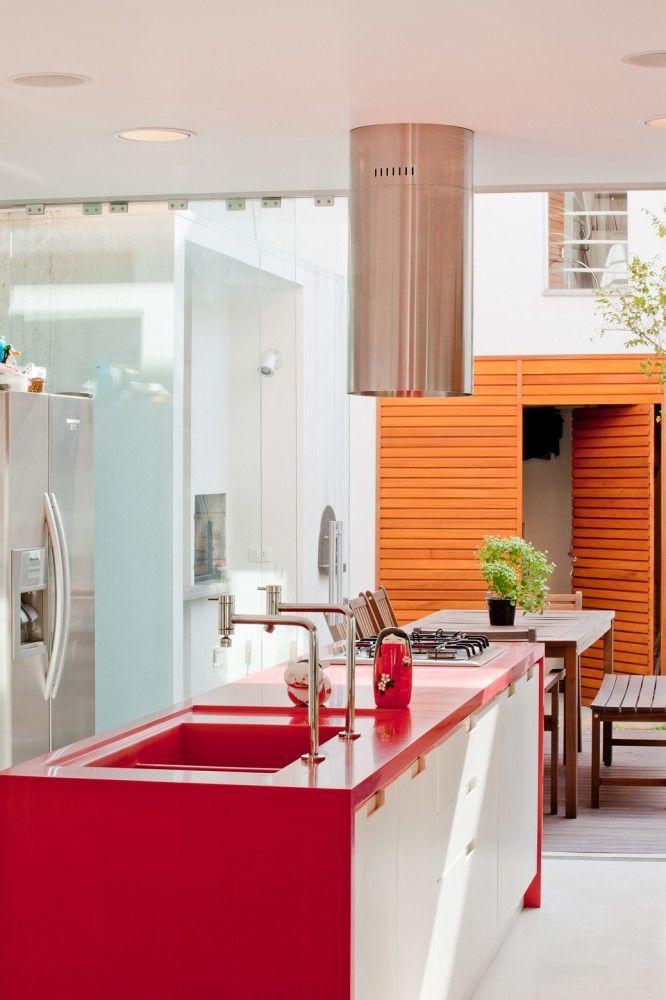 Gallery Of Brooklin House / Galeria Arquitetos   4. Long HouseInterior  Design KitchenKitchen ... Part 57