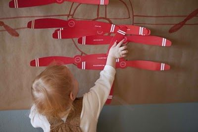 How time flies: Plane Party | pin the propeller on