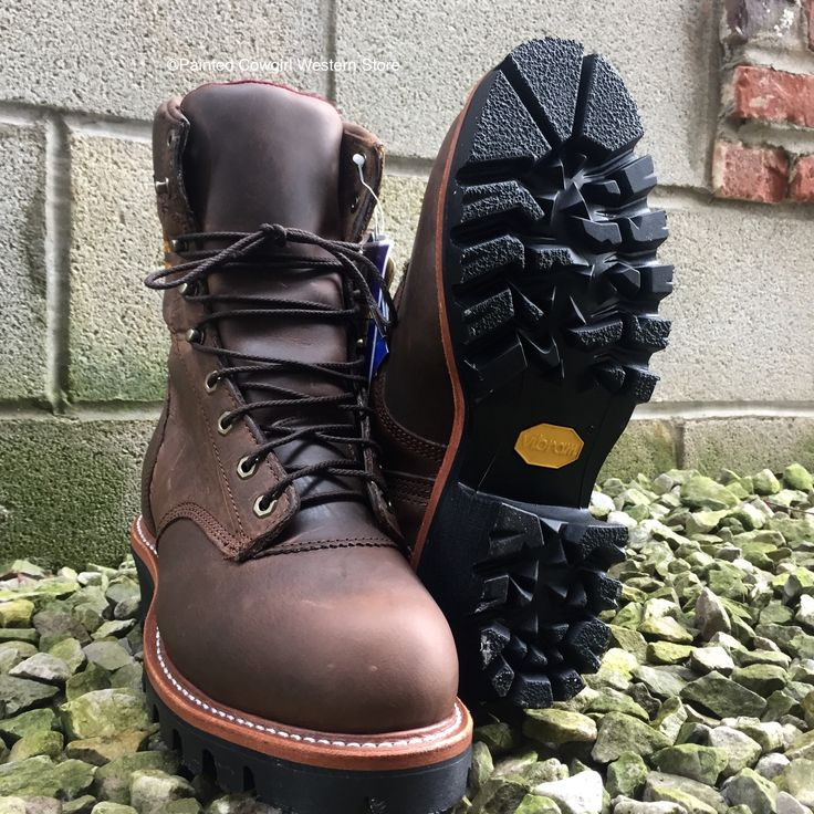 """Chippewa 9"""" Steel Toe Waterproof Insulated Lace Up Logger Boots 25405"""