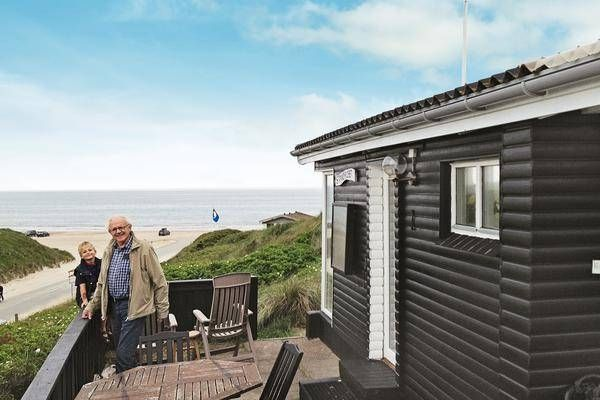 Ferienhaus Lökken Dänemark Direkt Am Meer
