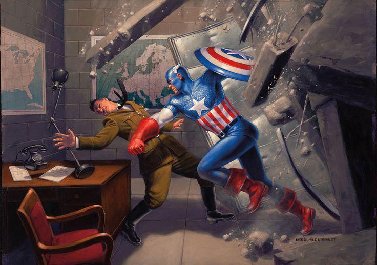 Комиксы Онлайн - Капитан Америка: Стив Роджерс - # 1 - Страница №8 - Captain America: Steve Rogers - # 1