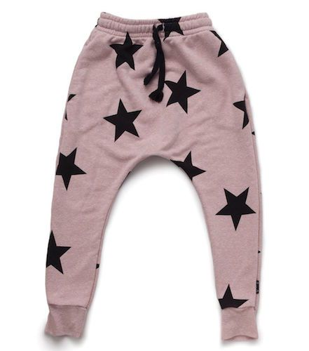 add a funky touch to your nununu kid's wardrobe with our star baggy pants. the…