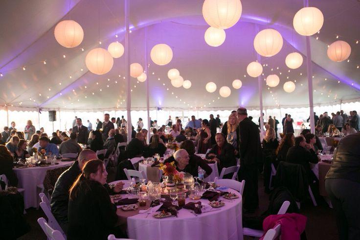 Tent versiering/ verlichting bruiloft