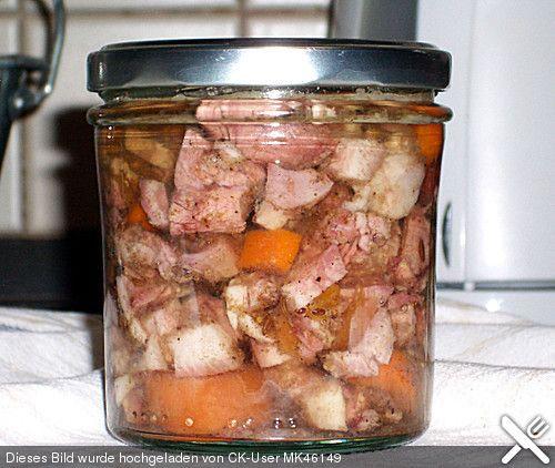 Sülze im Glas eingekocht (Rezept mit Bild) von MK46149 | Chefkoch.de