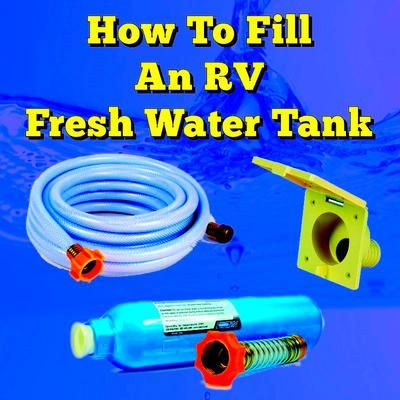 how to clean tanks on rv