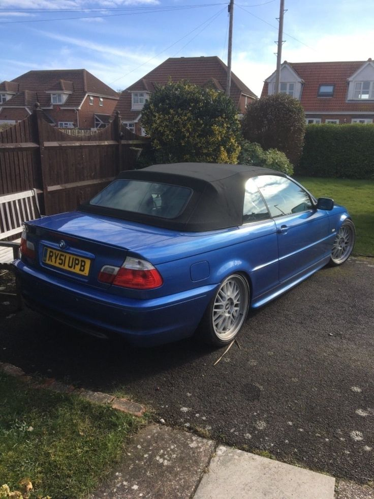 Bmw e46 convertible for sale: £895.00 End Date: Tuesday Apr-3-2018 16:06:02 BST Add to watch list
