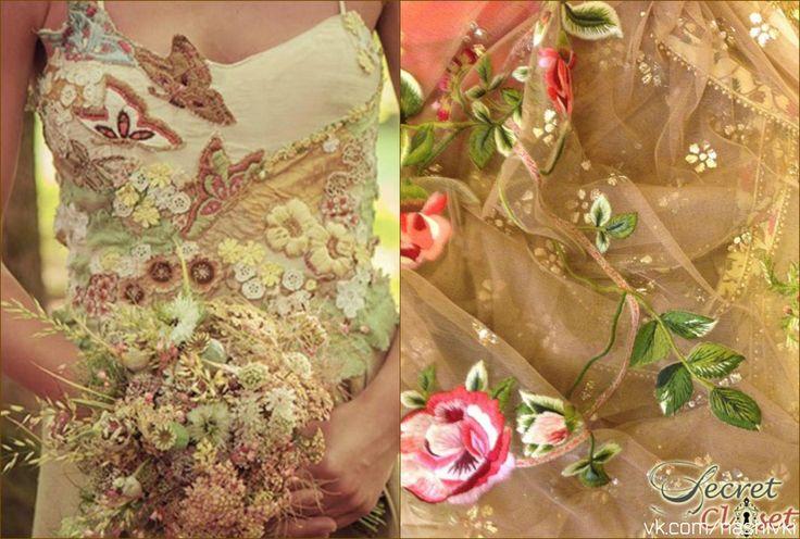 """""""Жизнь - это цветение, а не гонка"""" Д.Чопра #вышивка #вышивание #рукоделие #цитаты #подборки #красота #мода #женщина #желтый #платье #пайетки #цветы #музыка #жизнь #цветенье #букет"""