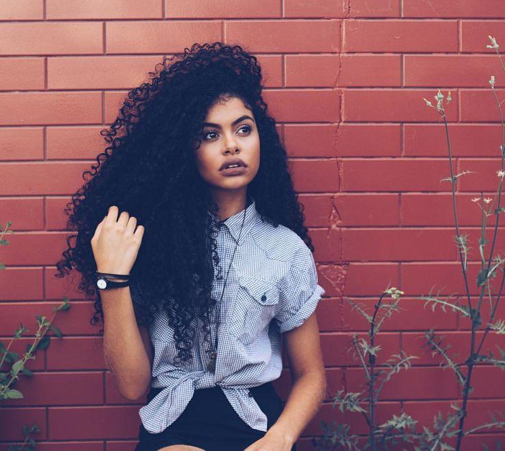 Quero meu cabelo assim