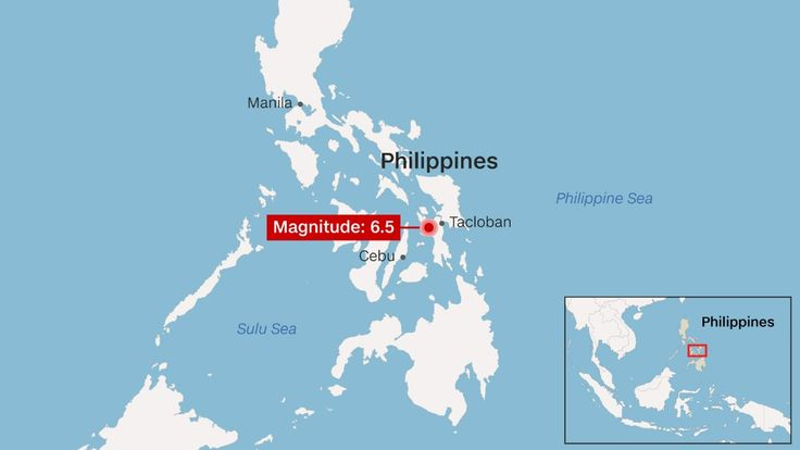 A 6.5-magnitude earthquake has struck the central Philippines, according to the United States Geological Survey.