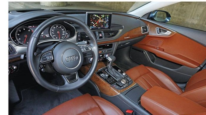 Test Car Intro: 2012 Audi A7   Scores a perfect 8 out of 8 and it's faster than a Ferrari.  Initial Report: 2012 Audi A7  Delivered price  $74230  Total miles  9272   Maintenance costs to date  $0  Repair costs to date  $0   Sure there's horsepower 060 mp
