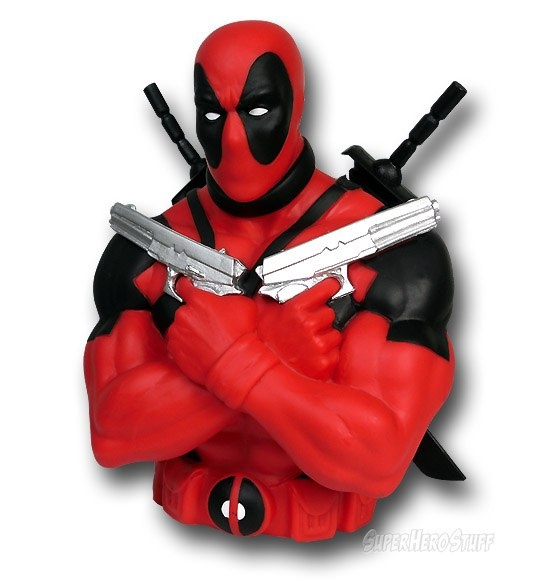 Images of Deadpool Bust Bank