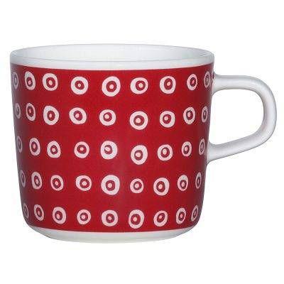 Marimekko Karakola glögimuki 2 dl, punainen