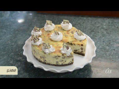 Ali - Cocina: Cheesecake de Casino de menta - YouTube