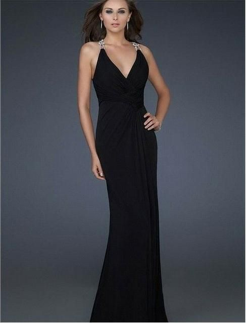 Apple body shape evening dress