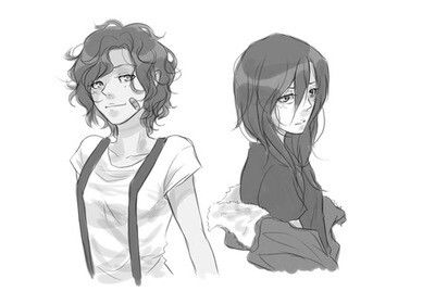 Fem Leo and Nico. Why do I like this So much??? it's amazing that's why